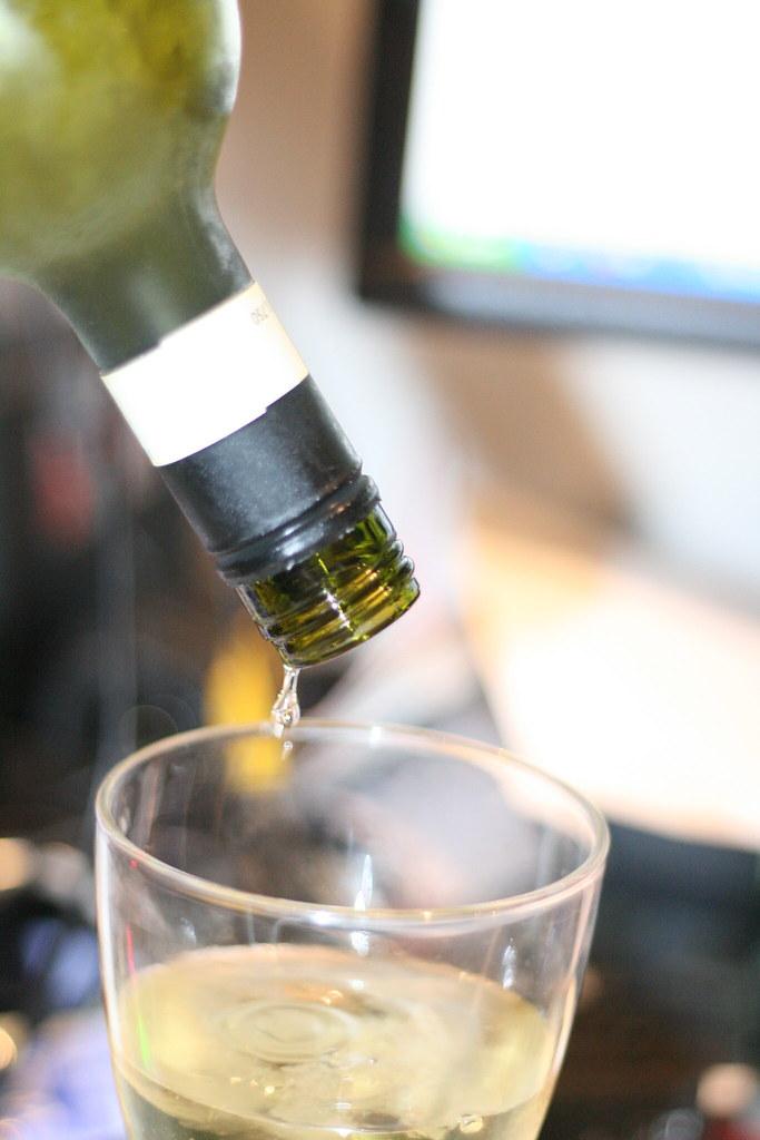 overchilled wine