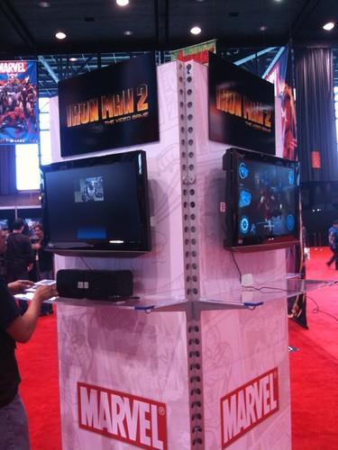 Iron Man 2 Booth
