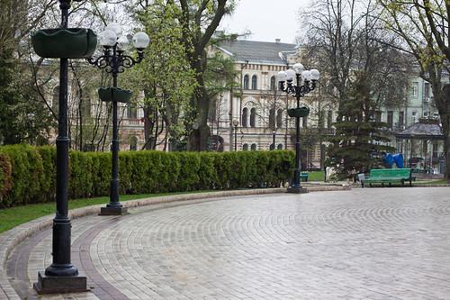 Kyiv. Shevchenko park