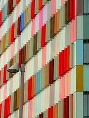 Fiat Lux (DiFo&Natura) Tags: windows milan building wings milano ali colored palazzo 2010 febbraio finestre colorate viaimbonati excarloerba progettomac567