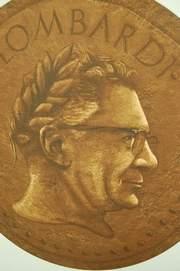 Vince Lombardi Medallion Obverse
