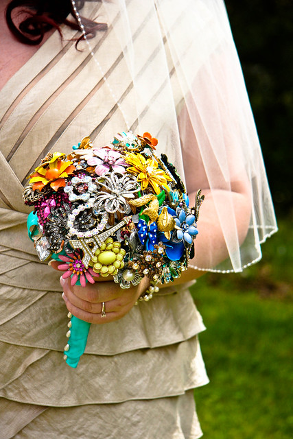 brooch bouquet!
