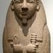 Ancient Egyptian Cartoon Mummy Sculpture at the British Museum