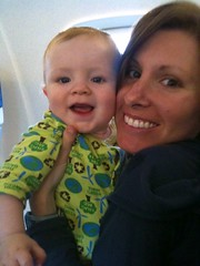 Will's first plane trip