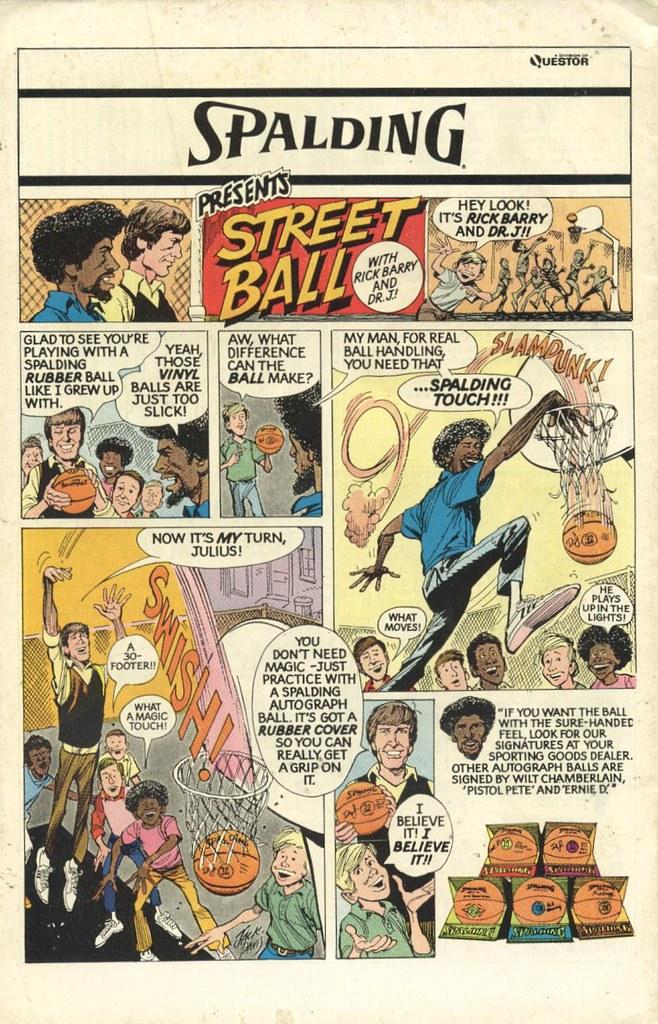 Spalding Street Ball ad