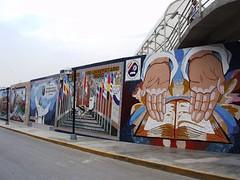Murales Artísticos del Jirón Colombia - Chosica Villa del Sol
