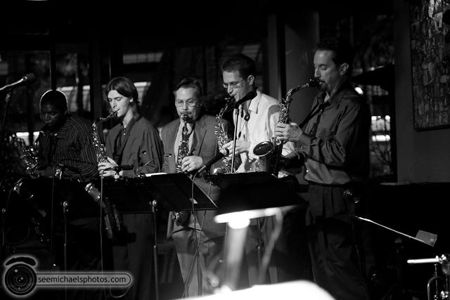 Paul Seaforth's Mo Sax at Dizzy's 41710 © Michael Klayman-003