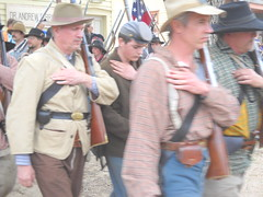 Confederate Soldiers (99kps) Tags: war weekend civil wichita cowtown
