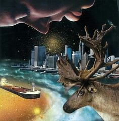 lick antlers (collageartbyjesse) Tags: art collage mixedmedia