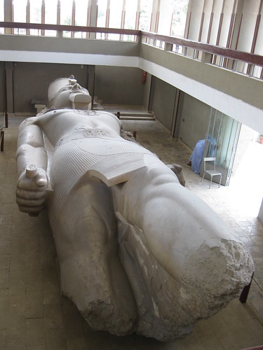 That's one big statue (Ramesses II)