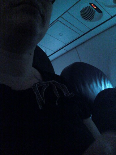 me on the plane