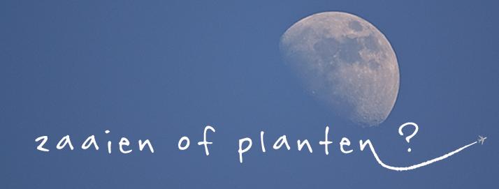 gardening by the moon, tuinieren met de maan, maankalender