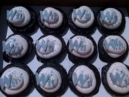 Wii cupcakes