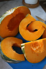 April Meal: Pumpkin Soup