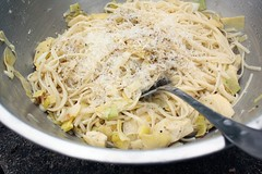 Thumbnail image for Linguine with Artichokes and Leeks