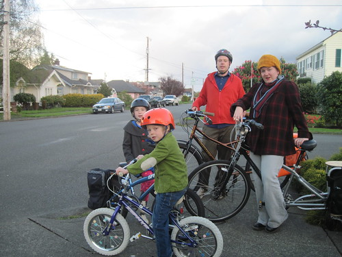 First Family Bike Ride, Sort Of