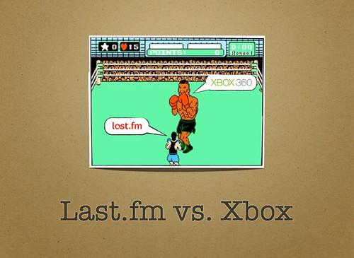 Last.fm vs Xbox