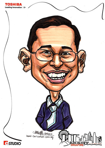 Caricature of Kevin