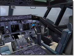 Cockpit 737 800