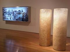 Doug Aitken - Plateau and Miroslaw Balka - 2 x (ø60 x 190)