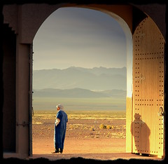 The first daylight (scrabble.) Tags: sunrise hotel morocco marokko zonsopgang kasbah earlymorningsun boumaine intheearlymorning  almarib  qassabah bestofmywinners guardatthegateofourhotel