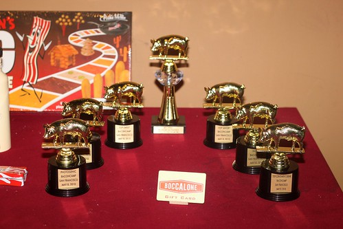 The BaconCamp Trophies