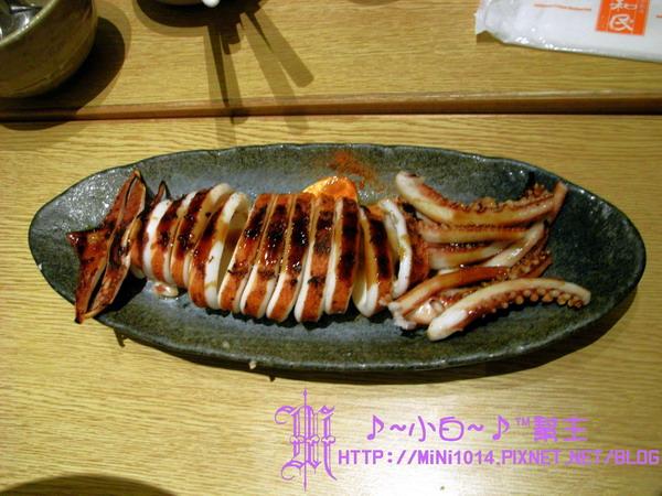 醬味魷魚燒