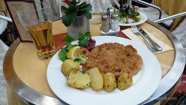 First Wiener Schnitzel Lunch