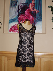 """Kate's black lace dress- dressmaking 2010 • <a style=""""font-size:0.8em;"""" href=""""http://www.flickr.com/photos/48423784@N05/4593027132/"""" target=""""_blank"""">View on Flickr</a>"""