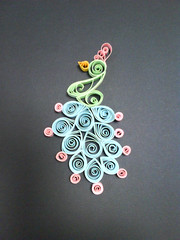 peacock (artysang) Tags: peacock quilling
