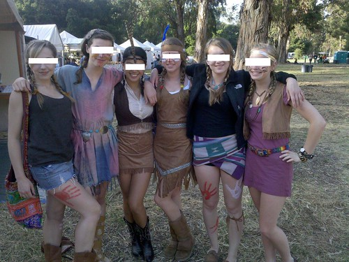 Powwow girls