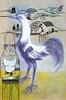 Lutador (. ♦ F L F ♦ .) Tags: birds arte cock nuvens arrow ilustração galo lutador franciscofreitas