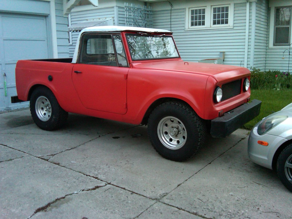 1964 International Scout http://www.boldride.com/ride/1964/international-harvester-scout-80