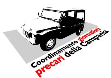Logo Coordinamento Giornalisti Precari Campania