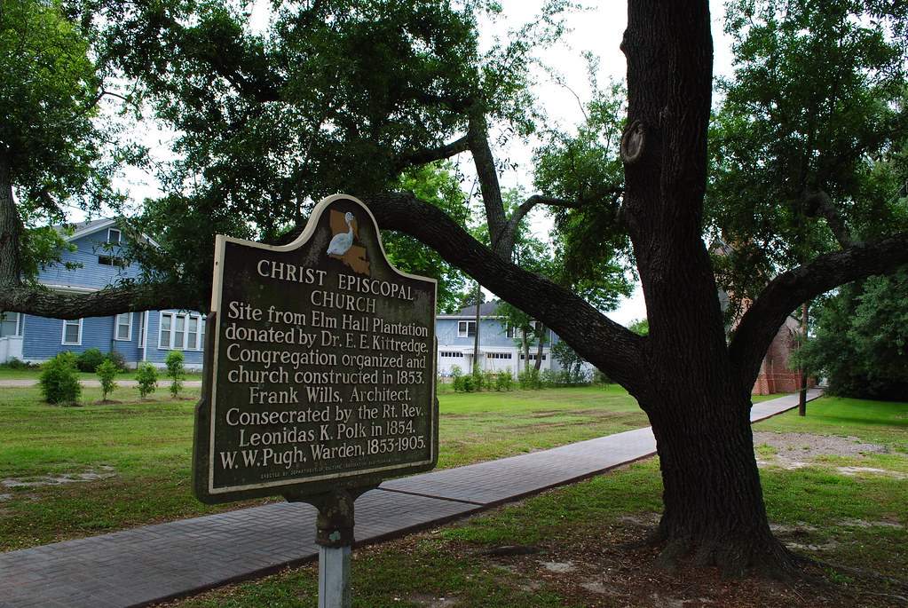 christ episcopal church sign