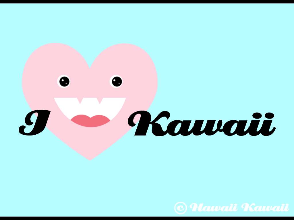 I Love Kawaii Wallpaper