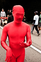 Limp Wristed Zentai (Good Ol' Charlie Brown) Tags: sf ca insanity debauchery 415 b2b bay2breakers btb publicdrinking cityparty azshall baytobreakers2010