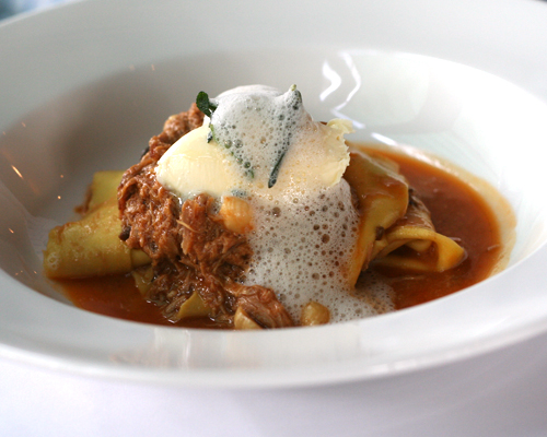 rabbit pappardelle