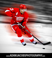 Pavel Datsyuk (AdamJacobsPhotos) Tags: motion art ice hockey nhl action michigan skate puck redwings joelouis detroitredwings paveldatsyuk adamjacobsphotography