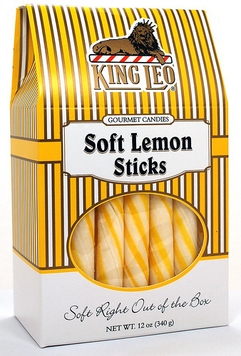 King Leo Soft Lemon Sticks
