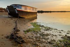 Golden Boathouse (Freester) Tags: dorset boathouse poole studland shellbay canonefs1022mmf3545usm pooleharbour leefilters 06nd 06ndgradhard frigginflies