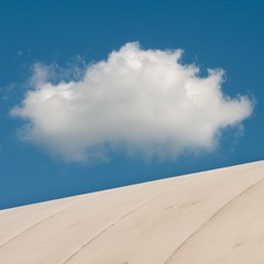 Cloud 'n' Dome (Olli Kekäläinen) Tags: blue sky cloud color photoshop suomi finland square helsinki nikon dome 2010 malmi d300 500x500 airdome artlibre ok6 ollik 20100522