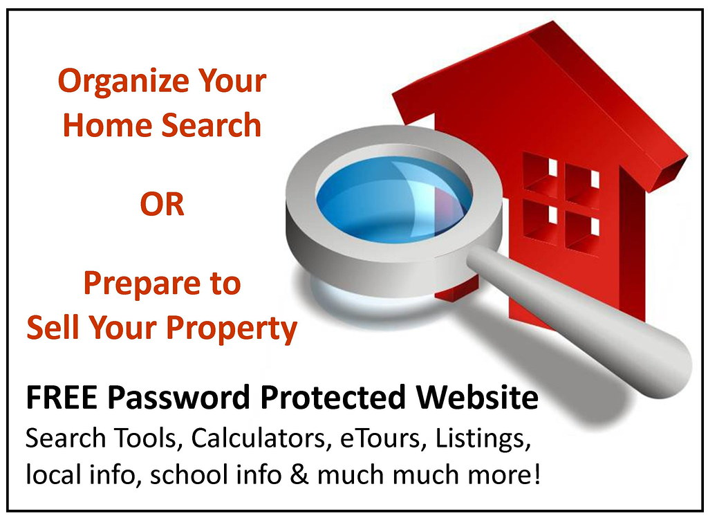 Free Premium Real Estate Tools: Password Protected Real Estate Website Home Buyer Seller