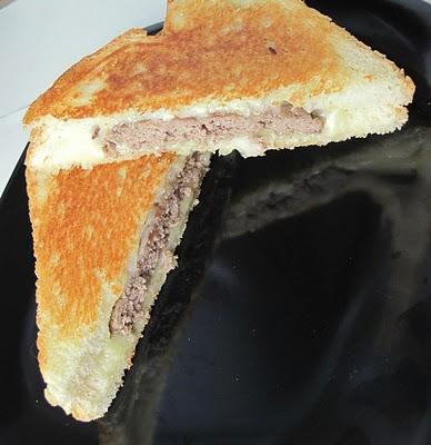 Grilled Cheese Burger: Cooking Stuff