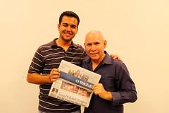 Steve McCurry (Bruno Fraiha) Tags: saopaulo sampa workshop stevemccurry ovale bfstudio brunofraiha