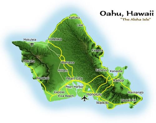 Recorrido por las islas de Hawai