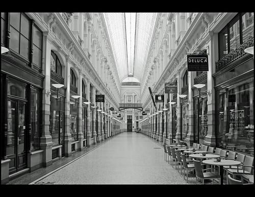 Passage to shopping paradise