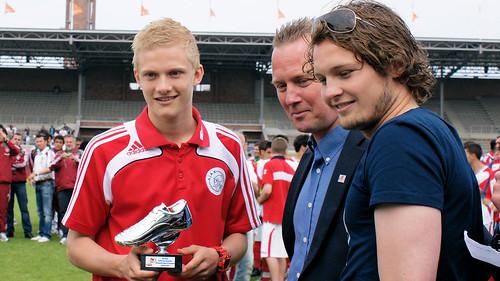 Nicolai Boilesen (Ajax) beste speler Copa toernooi / Best player Copa Tournement