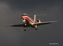 SRM570521100189 (photoman576097) Tags: california ca airplane flying aircraft jet landing sjc arrival americaneagle approach airlines airliner jetplane embraer jetliner emb135kl ksjc egf e135 n852ae sanjoseminettainternational regonaljet sn145736