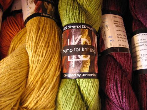 Hemp for Knitting!